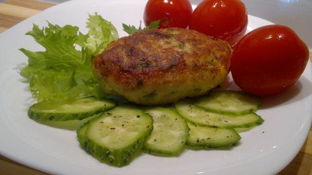 Котлеты из сома с овощами Блюда из рыбы Вторые блюда Котлеты