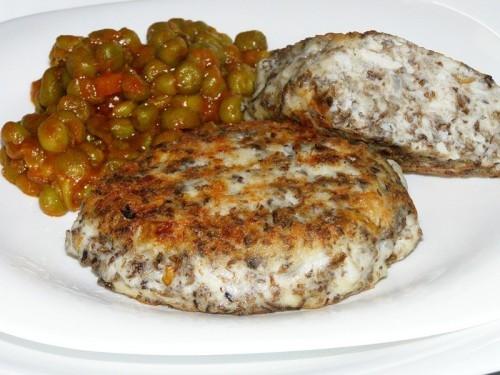 Котлеты из свежих грибов Вторые блюда Котлеты