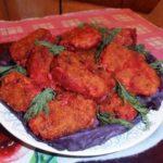 Котлеты мясные с овощными добавками Вторые блюда Котлеты