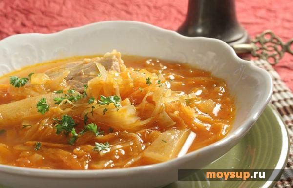 Крестьянский суп (Щи)
