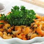 Креветки с имбирем и белым вином Блюда из рыбы Вторые блюда