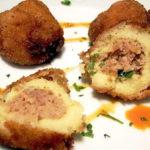 Крокеты картофельные с мясом Белорусская кухня