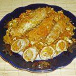 Крученики с капустой Блюда из мяса Вторые блюда
