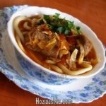 Кульчетай (мясо с бульоном) Киргизская кухня