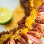 Курица под соусом из персиков Блюда из курицы Вторые блюда