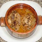 Курица в горшочке Французская кухня