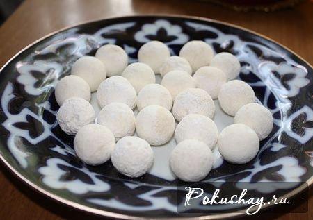 Курут (блюдо из кислого молока) Киргизская кухня