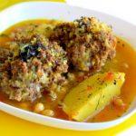Кюфта бозбаш Азербайджанская кухня