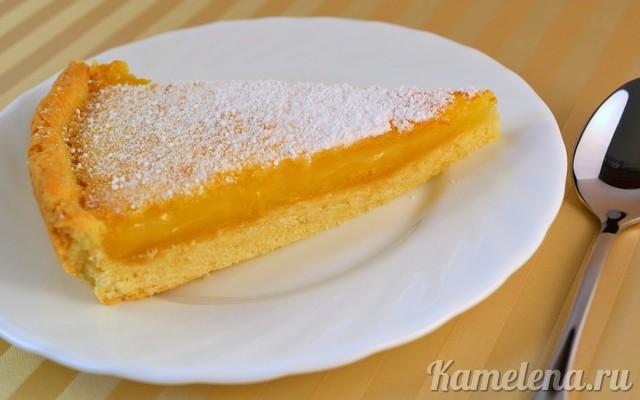 Лимонный пирог Выпечка Пироги
