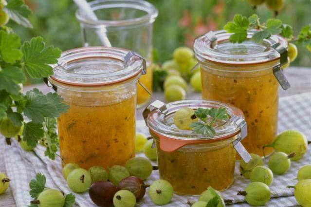 Лимоны в соке крыжовника Заготовки, консервирование
