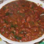 Лобио (суп из красной фасоли) Грузинская кухня