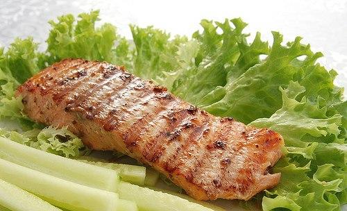 Лосось в маринаде Блюда из рыбы Вторые блюда