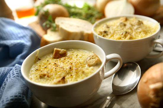 Луковый суп по-французски Французская кухня