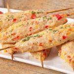 Люля из курицы с овощами и пряными травами Мясные блюда Турецкая кухня