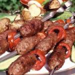 Люля-кебаб (шашлык из бараньего фарша) Азербайджанская кухня