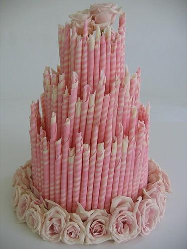 Маленький розовый торт Мучные изделия Турецкая кухня
