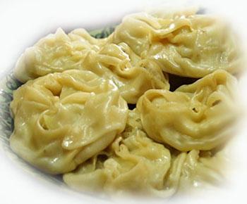 Манты с начинкой из картофеля Вторые блюда Манты