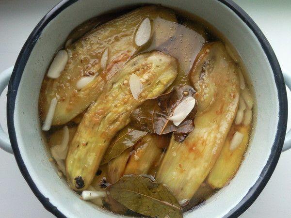 Маринованные баклажаны Заготовки, консервирование