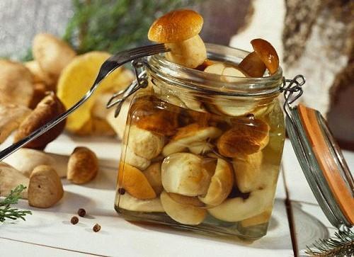 Маринованные грибы с бадьяном Заготовки, консервирование