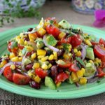 Мексиканский салат из авокадо Салаты