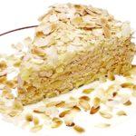 Миндальный торт с ромом Выпечка Торты