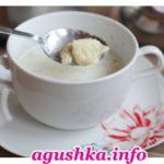 Молочный суп с клецками из ячменной муки Эстонская кухня