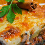 Мусака с овощами (мясо, тушенное с овощами) Армянская кухня