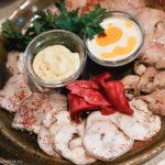 Мясное ассорти с кальмарами Блюда из мяса Вторые блюда