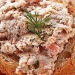 Мясной паштет с сыром Закуски