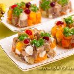 Мясо заливное Праздничный стол