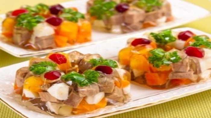 Мясо заливное «Ассорти» Итальянская кухня