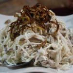 Нарын (салат из конины, редьки, лука и зелени) Киргизская кухня