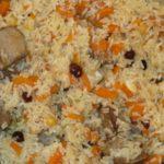 Нров плав (плов с гранатом) Армянская кухня