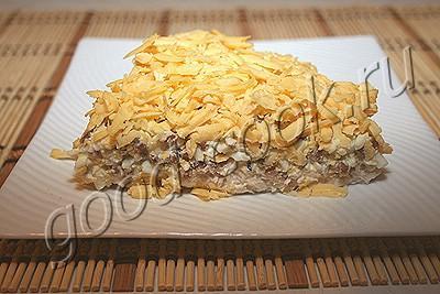 Омлет с кальмарами и гречкой Вторые блюда