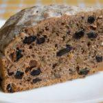 Ореховый пирог с изюмом Выпечка Десерты