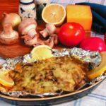 Осетрина с грибами Блюда из рыбы Вторые блюда