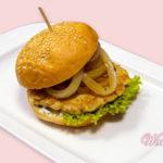 Острый бургер из цыпленка Американская кухня