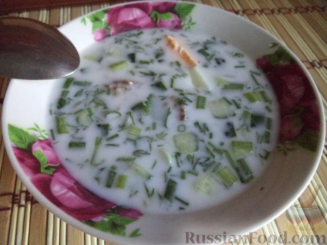 Овдух (окрошка мясная) Азербайджанская кухня