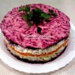 Овощной торт Из овощей