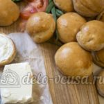 Пампушки гречневые вареные Украинская кухня