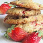 Печенье «Клубничное» Выпечка Пироги