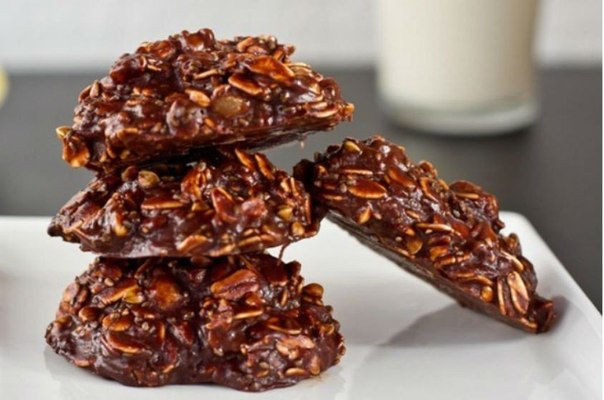 Печенье «Овсяно-шоколадное»
