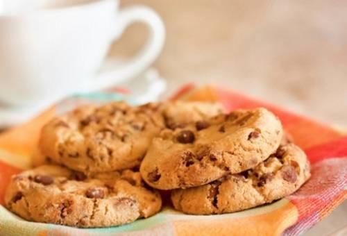 Печенье с кусочками шоколада Американская кухня