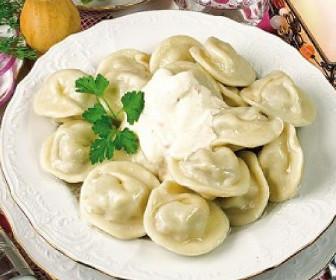 Пельмени по-осетински Вторые блюда Пельмени