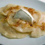 Пельмени с начинкой из картофеля и сыра Вторые блюда Пельмени