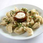 Пельмени с начинкой из печени и гречки Вторые блюда Пельмени