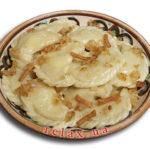 Пельмени с начинкой из печени и сала Вторые блюда Пельмени
