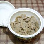 Пельмени с начинкой из сои Вторые блюда Пельмени