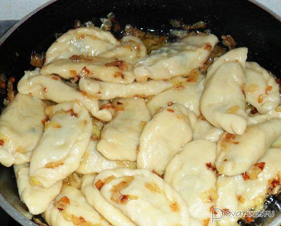 Пельмени с начинкой из свежих грибов Вторые блюда Пельмени