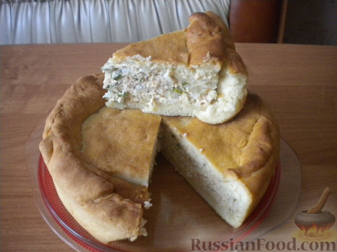 Пельмени с начинкой из вязиги и риса Вторые блюда Пельмени